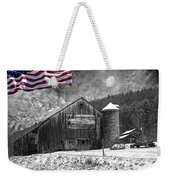 Made In America Red White And Blue Weekender Tote Bag