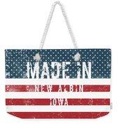 Made In New Albin, Iowa Weekender Tote Bag