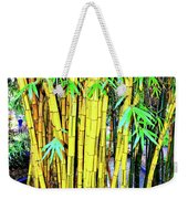 City Park Bamboo Grass Weekender Tote Bag