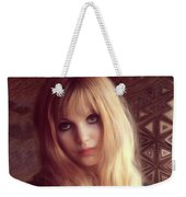 Madeline Smith, Vintage Actress Weekender Tote Bag