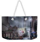 Madison Avenue Weekender Tote Bag