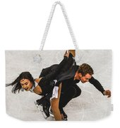 Madison Chock And Evan Bates Weekender Tote Bag