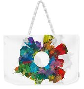 Madison Small World Cityscape Skyline Abstract Weekender Tote Bag