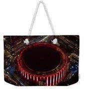 Madison Square Garden Aerial Weekender Tote Bag