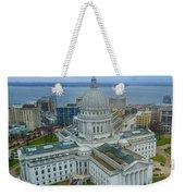 Madison Wisconsin Weekender Tote Bag