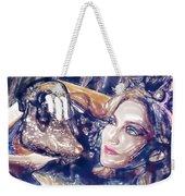 Madona Watercolor Weekender Tote Bag