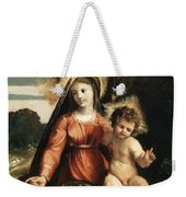 Madonna And Child 1525 Weekender Tote Bag