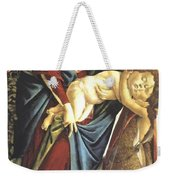 Madonna And Child And The Young St John The Baptist 1495 Weekender Tote Bag