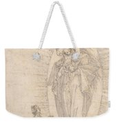 Madonna And Child Appearing To A Supplicant Weekender Tote Bag