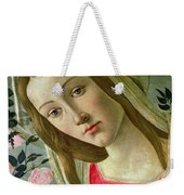 Madonna And Child Crowned By Angels Weekender Tote Bag