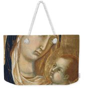 Madonna And Child Fragment  Weekender Tote Bag