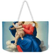 Madonna And Child In Glory Weekender Tote Bag
