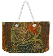 Madonna And Child With Five Angels Weekender Tote Bag