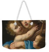 Madonna And Child With Saint John The Baptist Weekender Tote Bag
