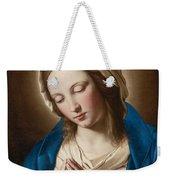 Madonna At Prayer Weekender Tote Bag