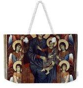 Madonna & Child In Majesty Weekender Tote Bag by Granger