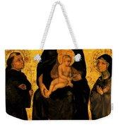Madonna In Gloria Between Saint Francis And Santa Chiara Gentile Weekender Tote Bag
