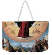 Madonna In Glory And Holy Hones Weekender Tote Bag