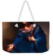 Madonna In Glory Weekender Tote Bag