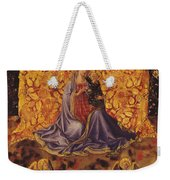 Madonna Of Humility With Christ Child And Angels Weekender Tote Bag