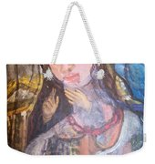 Madonna Of The Racket Weekender Tote Bag