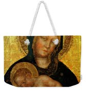 Madonna With Child Gentile Da Fabriano 1405 Weekender Tote Bag
