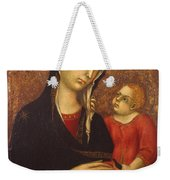 Madonna With Child Weekender Tote Bag