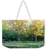 Mae Stecker Park In Shelby Township Michigan Weekender Tote Bag