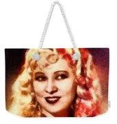 Mae West, Vintage Actress Weekender Tote Bag