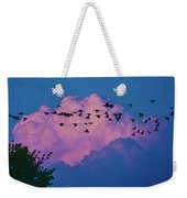 Magenta Dream Weekender Tote Bag