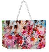 Magenta May Flowers Weekender Tote Bag