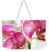 Magenta Orchids Weekender Tote Bag