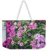 Magenta Petunias Weekender Tote Bag