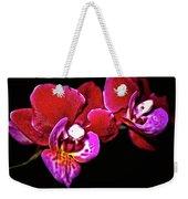 Magenta Phaleonopsis Orchid Weekender Tote Bag
