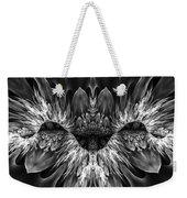 Magenta Until - Black And White 2 Weekender Tote Bag