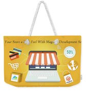 Magento Development Services In Usa Weekender Tote Bag