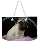 Maggie In A Basket Weekender Tote Bag