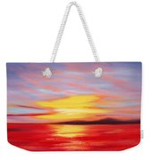 Magic At Sunset Weekender Tote Bag