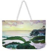 Magic Dawn At A Hidden Beach Weekender Tote Bag