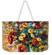 Magic Flowers Weekender Tote Bag