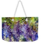 Magic In Purples And Greens Weekender Tote Bag