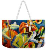 Magic Music Weekender Tote Bag by Leon Zernitsky