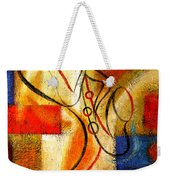 Magic Saxophone Weekender Tote Bag