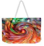 Magical Energy Weekender Tote Bag by Linda Sannuti