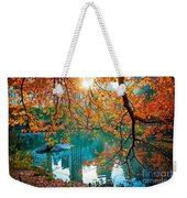 Magical Fall Weekender Tote Bag