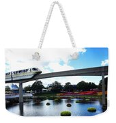 Magical Monorail Ride Weekender Tote Bag