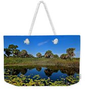 Magical Pond With Water Lilies Weekender Tote Bag