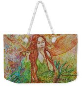 Magical Song Of Autumn Weekender Tote Bag