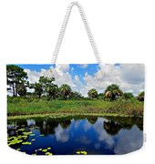 Magical Water Lily Pond 2 Weekender Tote Bag