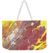 Magma Flow Weekender Tote Bag